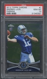 2012 Topps Chrome #1A Andrew Luck Rookie Passing Pose PSA 10