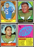 1967 Topps Football Complete Set (VG-EX)