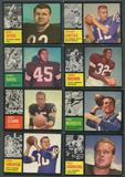 1962 Topps Football Complete Set (VG-EX)