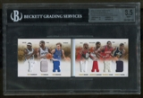 2012/13 Panini Preferred Booklet Forward Mem. Dirk Nowitzki Tim Duncan BGS 8.5  Ser /199