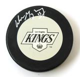 Wayne Gretzky Autographed Los Angeles Kings Official Puck (WGA & Steiner)