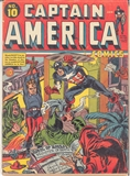 Captain America Comics #10 VG