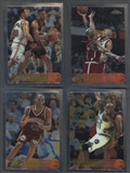 1996/97 Topps Chrome Basketball Partial Set