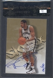 1998/99 SkyBox Premium #37 Tim Duncan Autographics Blue Auto #06/50 BGS 9 Raw Card Review