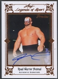 2012 Leaf Originals #PARWA Road Warrior Animal Legends of Sport Preview Auto