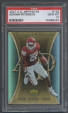 2007 Artifacts #152 Adrian Peterson Rookie PSA 10