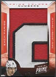 2012/13 Panini Prime #54 Zach Parise Colors Numbers Patch #1/4