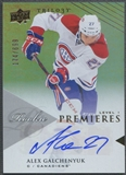 2013/14 Upper Deck Trilogy #107 Alex Galchenyuk Rookie Auto #174/699