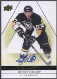 2013-14 Upper Deck Trilogy #80 Sidney Crosby Auto
