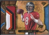 2013 Topps Triple Threads #TTRJRMG2 Mike Glennon Sapphire Rookie Jumbo Patch #10/10