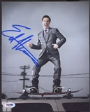 2014 Leaf Pop Century Ed Helms Signed Auto 8x10 PSA DNA