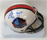 Cris Carter Autographed Hall of Fame Mini Helmet (JSA)