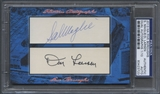 2013 Historic Autograph Five Boroughs Sal Maglie & Don Larsen Cut Auto #01/10 PSA DNA
