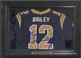 2013 Panini Black #46 Stedman Bailey Shadow Box Rookie Jersey Auto #22/99