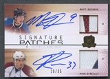 2009/10 The Cup #SP2DO Matt Duchene & Ryan O'Reilly Signature Patch Dual Auto #16/35
