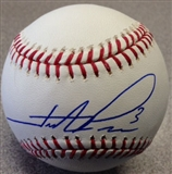 Hunter Pence Autographed SF Giants Rawlings Official MLB Baseball (Onyx COA)