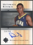 2005/06 Ultimate Collection #158 Danny Granger Rookie Auto #210/250