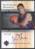 2005/06 Ultimate Collection #170 David Lee Rookie Auto #110/250