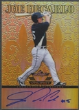 2012 Leaf Valiant Draft #JDC Joe DeCarlo Yellow Rookie Auto #08/10