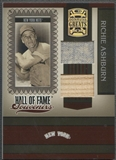 2005 Donruss Greats #24 Richie Ashburn Hall of Fame Souvenirs Material Combo Bat Jersey