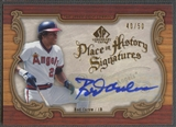 2006 SP Legendary Cuts #CA Rod Carew Place in History Auto /50