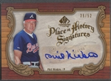 2006 SP Legendary Cuts #PN Phil Niekro Place in History Auto #38/52