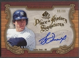 2006 SP Legendary Cuts #BD Bucky Dent Place in History Auto #88/99