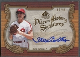 2006 SP Legendary Cuts #SC2 Steve Carlton Place in History Auto /99