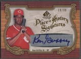 2006 SP Legendary Cuts #KG Ken Griffey Sr. Place in History Auto #19/99