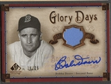 2005 SP Legendary Cuts #BD Bobby Doerr Glory Days Material Jersey Auto #14/25