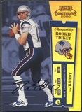 2000 Playoff Contenders #144 Tom Brady Championship Ticket Rookie Auto #024/100