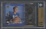 1998 SP Authentic #14 Peyton Manning Rookie #1247/2000 BGS 9.5