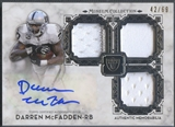2013 Topps Museum Collection #SSTRADM Darren McFadden Signature Swatches Patch Auto #42/69