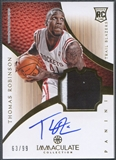 2012/13 Immaculate Collection #138 Thomas Robinson Rookie Patch Auto #63/99