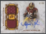 2013 Topps Museum Collection #SSDRAAM Alfred Morris Signature Swatches Copper Dual Jersey Auto #07/50