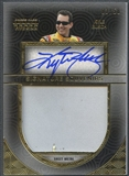 2014 Press Pass Five Star #SSKYB Kyle Busch Signature Souvenirs Gold Sheet Metal Auto #03/50