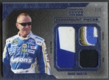 2014 Press Pass Five Star #PPMM Mark Martin Paramount Pieces Blue Sheet Metal Firesuit Shoe #2/5