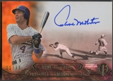 2014 Topps Tribute #TTPM Paul Molitor Tribute Traditions Sepia Auto #21/35