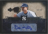 2007 Upper Deck Premier #DM Don Mattingly Insignias Auto #04/50