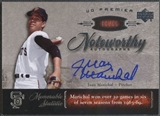 2007 Upper Deck Premier #JM Juan Marichal Noteworthy Auto #63/65