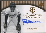 2008 Upper Deck Premier #RC Rod Carew Signature Premier Gold Auto #03/15
