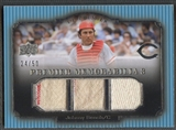 2008 Upper Deck Premier #BE Johnny Bench Memorabilia Triple Jersey #24/50