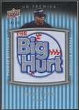 2008 Upper Deck Premier #FT Frank Thomas Premier Stitchings Patch #34/50
