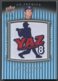 2008 Upper Deck Premier #CY Carl Yastrzemski Premier Stitchings Patch #71/75