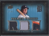2008 Upper Deck Premier #OR Magglio Ordonez Premier Swatches Patch #17/47