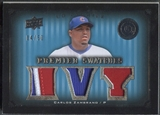 2008 Upper Deck Premier #CZ Carlos Zambrano Premier Swatches Patch #04/50