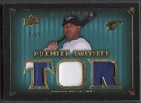 2008 Upper Deck Premier #VW Vernon Wells Premier Swatches Gold Patch #15/25