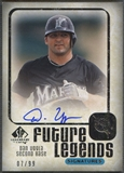 2008 SP Legendary Cuts #DU Dan Uggla Future Legends Signatures Auto #07/99