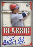 2008 SP Legendary Cuts #CF Carlton Fisk Classic Signatures Auto #02/25