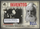 2008 SP Legendary Cuts #110 Alexander Graham Bell Memorable Moments #1/1